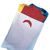 Plastic Die-Cut Handle Merchandise Bags
