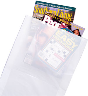 16x4x24 White High Density Merchandise Bags