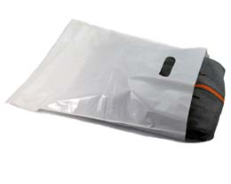 Plastic Die-Cut Handle Retail Merchandise Bags