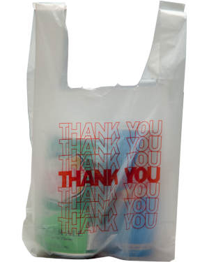 Small Thank You t-shirt bags