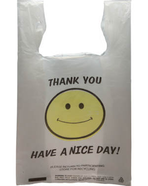 Smiley Thank You Bag