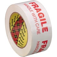 3M 3772 Fragile Handle With Care Box Sealing Tape