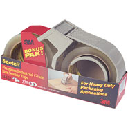 3M PSD-1 Scotch Box Sealing Tape Bonus Pack