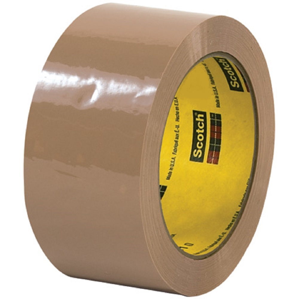 3m 311 tan 48mm x 100m 2 mil carton sealing tape