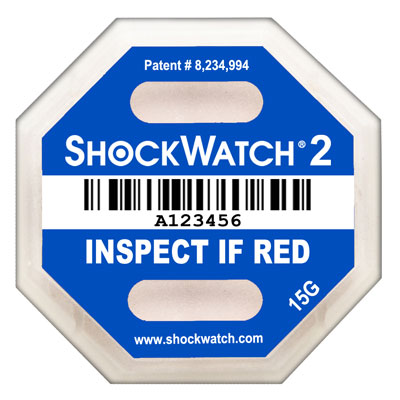 ShockWatch 2 15G Label