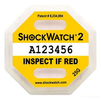 ShockWatch 2 25G Label