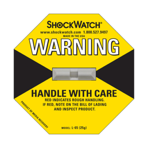 ShockWatch 2 50G Label
