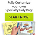 Fully Customize Your Own Personal Specialty Poly Bag