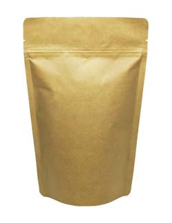 12 oz Stand Up Pouch Kraft PET/ALU/LLDPE