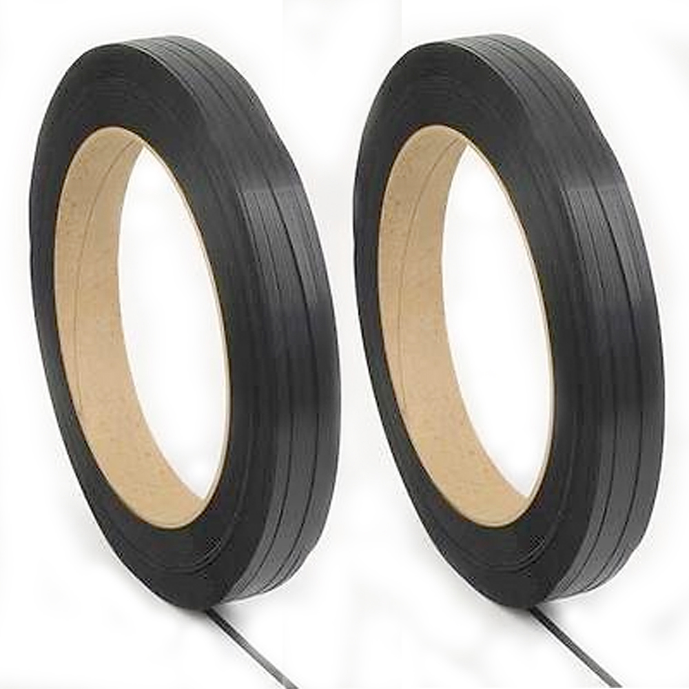 Image of .41 x 7700 Signode Poly Strapping - 12 Coils