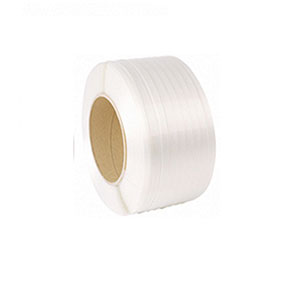 3/4x2100 white polyester cord strapping