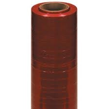 80 Ga 30 x 5000 Dark Red Machine Stretch Film