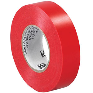 0.75x20 Red Electrical Tape