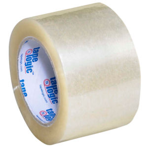2.5mil 3x55 yds hot melt carton sealing tape