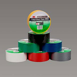 3 in x 50 yd vinyl duct tape