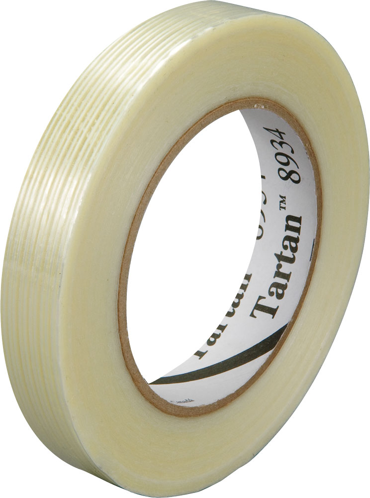 Image of 3M 8934 18 mm x 55 m Tartan Filament Tape Clear S-3298