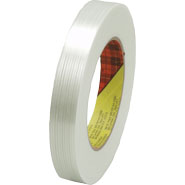 3M 897 Scotch Filament Tape Clear, 3/4 inch x 60 yard