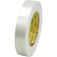 3M 897 Scotch Filament Tape Clear, 1 inch x 60 yard