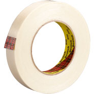 3M 898 Scotch Filament Tape 898 Clear, 3/4 inch x 60 yards