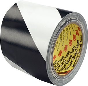 3M Safety Stripe Tape 5700 Black and White 2 in x 36 yd