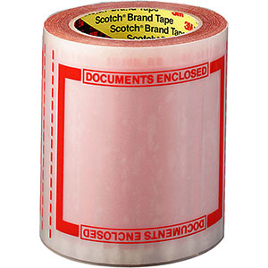 3M Scotch Pad 8240 Packing List Tape 5x6
