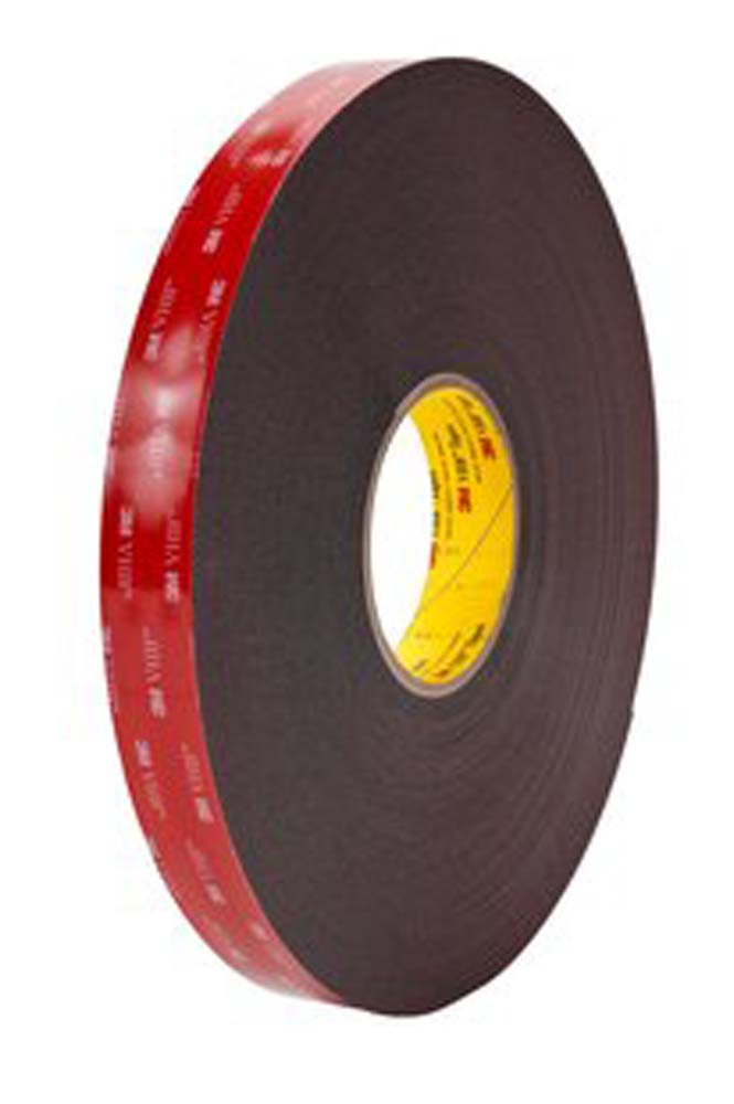 3M 5952WF 1/2 in x 36 yd 45 mil VHB Tape