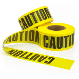 Yellow Barricade Tape