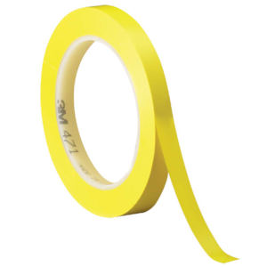 yellow 0.25x36 5.2 mil 3m 471 vinyl tape