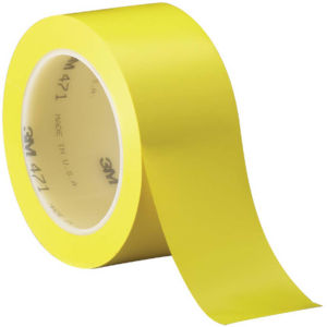 yellow 2x36 5.2 mil 3m 471 vinyl tape