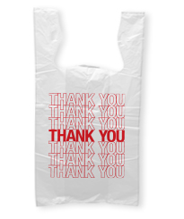 Pre Printed Thank-You Bags