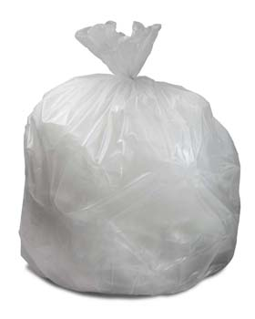 20-30 Gallon Clear 30 x 36 Heavy Duty Trash Bags
