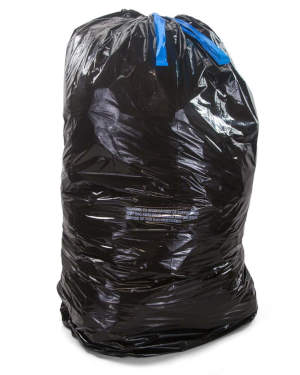 23 Gallon Black 30 x 43 Drawstring Trash Bags