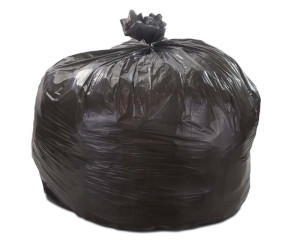56 Gallon Black 43 x 47 Regular Duty Trash Bags