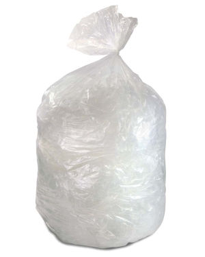 60 Gallon Clear 38 x 58 Heavy Duty Trash Bags