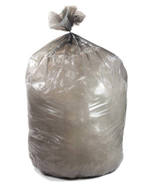 60 Gallon Gray 38 x 58 Heavy Duty Trash Bags