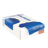Blue Healthcare Trash Bags with