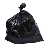 Heavy Duty Black Trash Bags