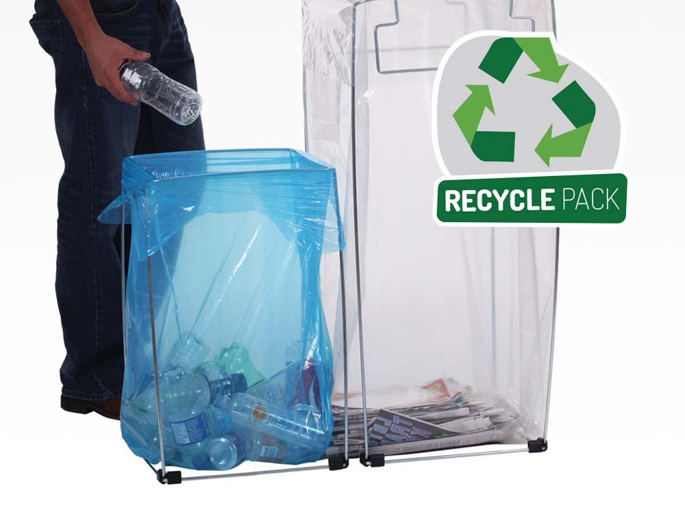 Recycle Pack Bag Buddy Holders