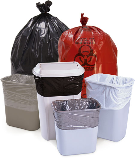 Trash Can Liners and Can Liners