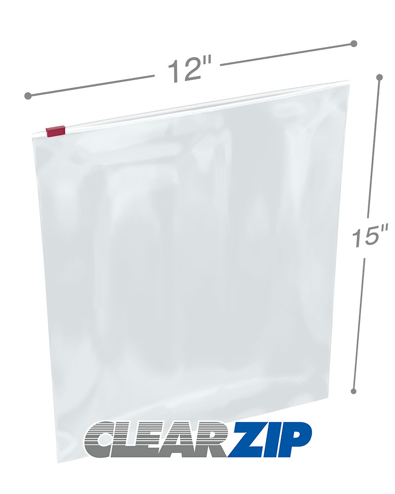 12 X 15 Slider Bags Two Gallon