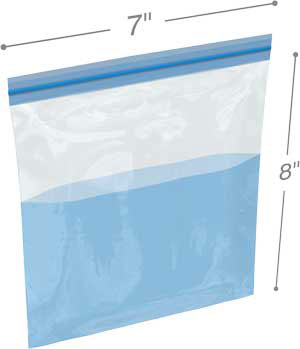 BITRAN PE Series 4754-PE 7 x 8 .003 Leakproof Bag