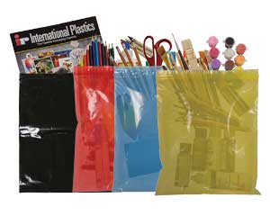 Colored Ziplock Bags